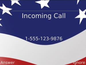 The American Theme Incoming Call